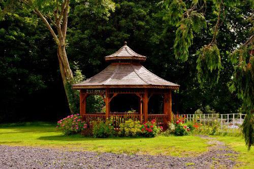 large garden gazebo